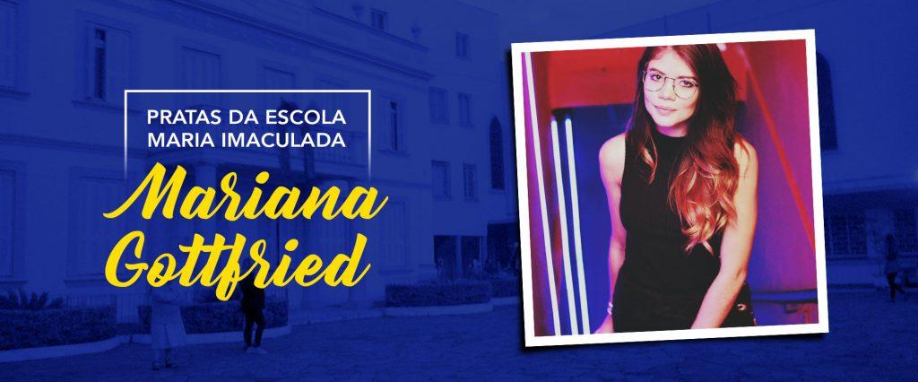 Pratas da Escola Maria Imaculada: Mariana Gottfried