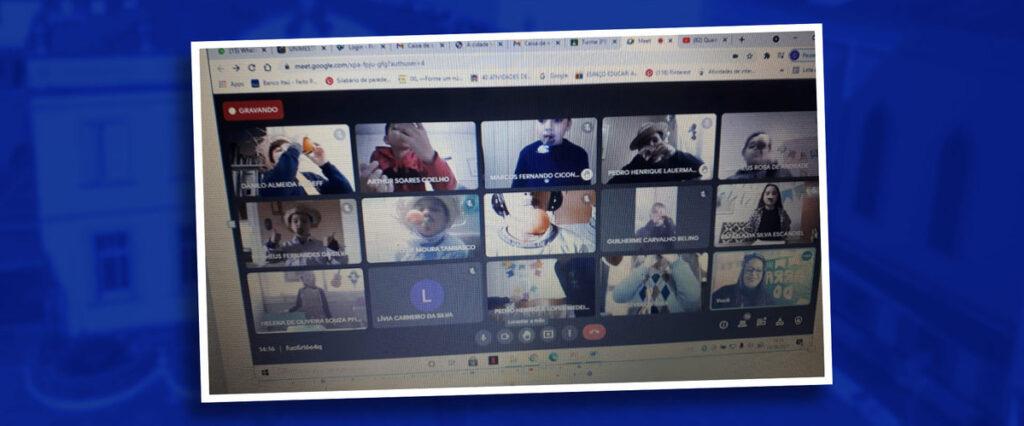Arraial Virtual da Escola